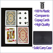 Trademark KEM Narrow Paisley Bridge Playing Cards
