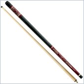 Trademark Old Western Saloon Pool Cue Stick with Case