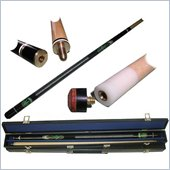 Trademark Pot Leaf Hardwood Cue Pool Stick