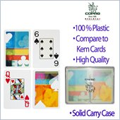 Trademark Copag Silver Series Bridge Cards-Casual -2 Decks
