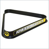 Trademark University of Iowa Billiard Ball Triangle Rack