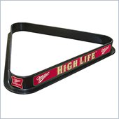 Trademark Miller High Life Billiard Ball Triangle Rack