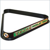 Trademark Texas Holdem Billiard Ball Triangle Rack