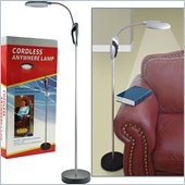 Trademark Global Super Bright Portable Cordless Floor Lamp 
