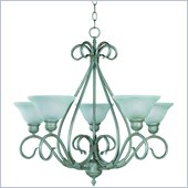 Trademark Global Savoy House 5 Light Chandelier