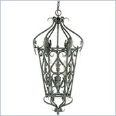 Trademark Global Savoy House 3 Light Foyer Pendant in silver