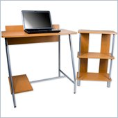 Trademark Global Orispace Office in a Box Desk and Bookcase Combo