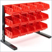 Trademark Global Trademark Tools Bench Top Parts Rack - 15 pieces