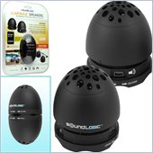 Trademark Global Rechargeable Egg Nesting Speakers USB