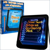 Trademark Global Trademark Home LED Writing Menu Message Board - Black