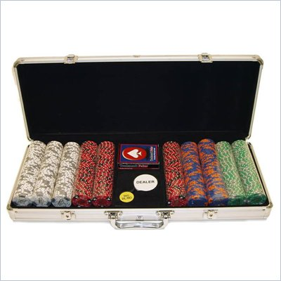 Trademark Fabulous Las Vegas 500 11.5g Poker Chip Set With Aluminum Case