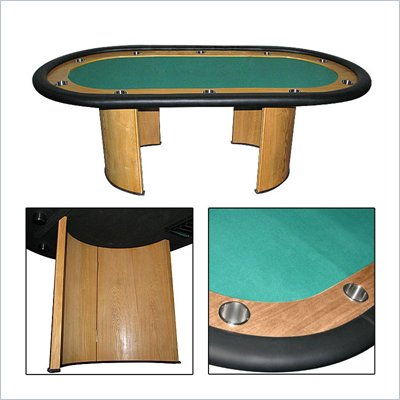 Trademark Global Professional Texas Holdem Poker Table