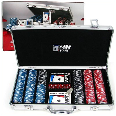 Trademark World Poker TourT 300 Poker Chip Set