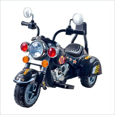 Trademark Global Wild Child Motorcycle - Black - Three Wheeler