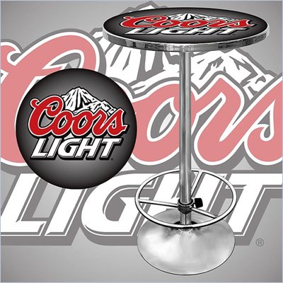 Trademark Global 28&quot; Round Coors Light Pub Table
