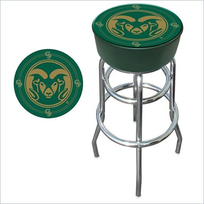 Trademark Retro Colorado State University Padded Bar Stool