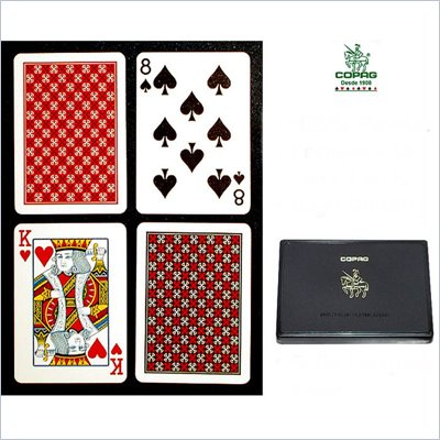 Trademark CopagT Poker Size Regular Index - Master Design Setup