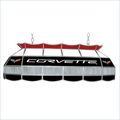 Trademark Corvette C6 Stained Glass 40&quot; Lighting Fixture