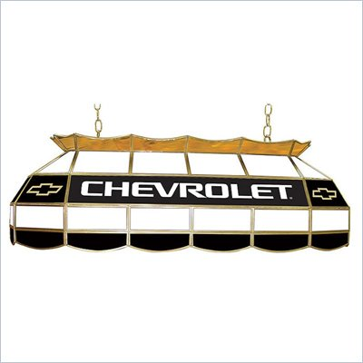 Trademark Chevy Bow Tie Stained Glass 40 inch Lighting Fixture