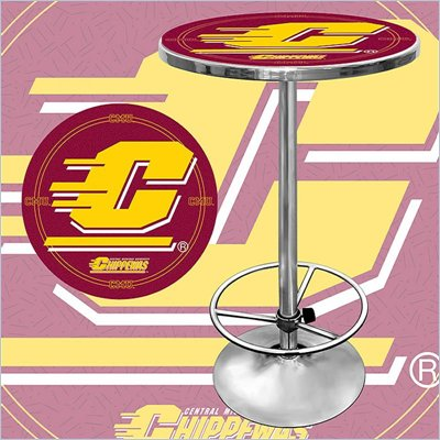 Trademark Central Michigan University Pub Table