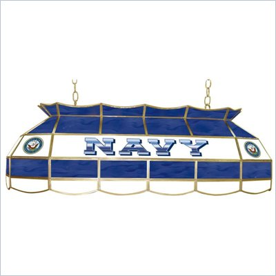 Trademark U.S. Navy Stained Glass 40 Inch Lighting Fixture