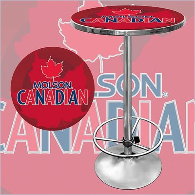 Trademark Molson Canadian Pub Table
