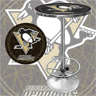Trademark NHL Pittsburgh Penguins Pub Table
