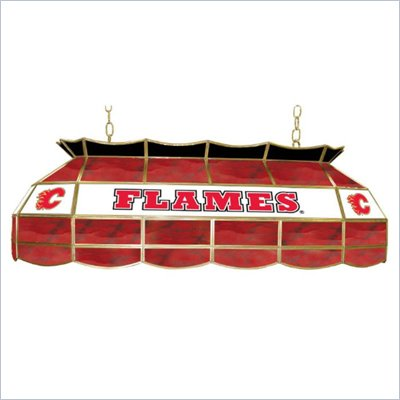 Trademark NHL Calgary Flames Stained Glass 40&quot; Lighting Fixture