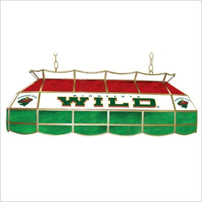 Trademark NHL Minnesota Wild Stained Glass 40&quot; Lighting Fixture