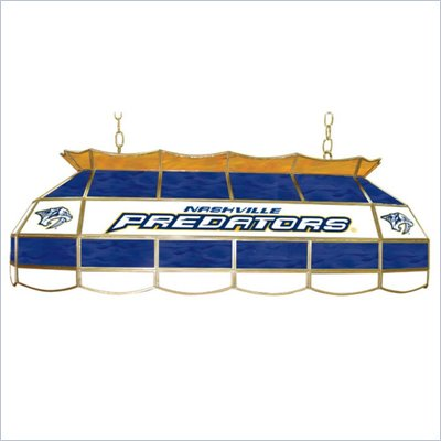 Trademark NHL Nashville Predators Stained Glass 40&quot; Lighting Fixture