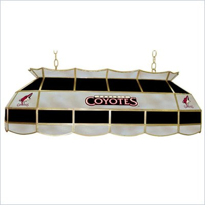 Trademark NHL Phoenix Coyotes Stained Glass 40&quot; Lighting Fixture