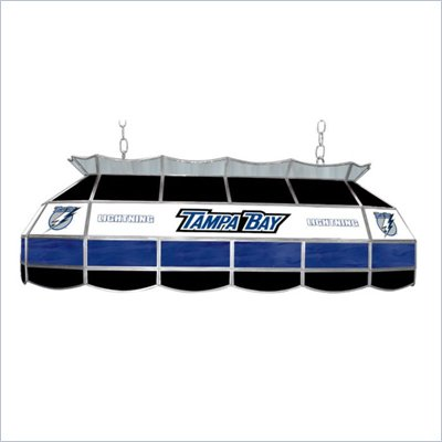 "Trademark NHL Tampa Bay Lightening Stained Glass 40"" Lighting Fixture"