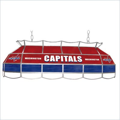 Trademark NHL Washington Capitals Stained Glass 40&quot; Lighting Fixture