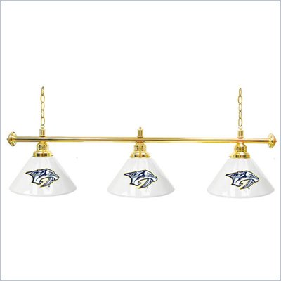 Trademark NHL Nashville Predators 60 Inch 3 Shade Billiard Lamp