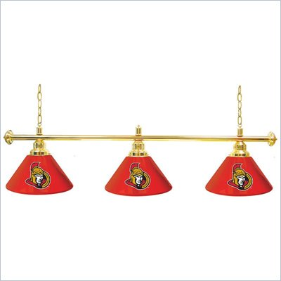 Trademark NHL Ottawa Senators 60 Inch 3 Shade Billiard Lamp