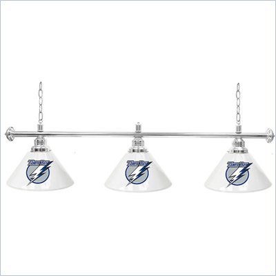 Trademark NHL Tampa Bay Lightning 60 Inch 3 Shade Billiard Lamp