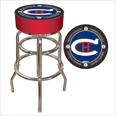 Trademark NHL Vintage Montreal Canadiens Padded Bar Stool