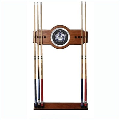 Trademark NHL Los Angeles Kings 2 piece Wood and Mirror Wall Cue Rack