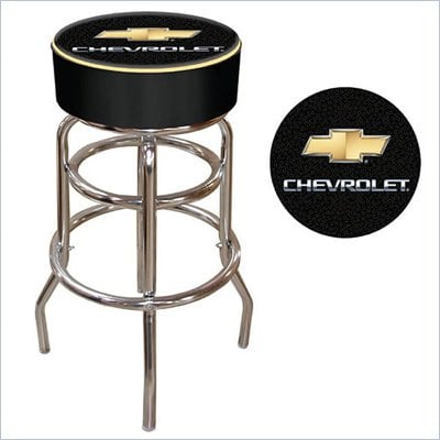 Trademark Retro Chevy Padded Bar Stool