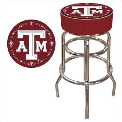Trademark Retro Texas A&amp;M University Padded Bar Stool