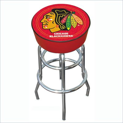 Trademark Retro NHL Chicago Blackhawks Bar Stool
