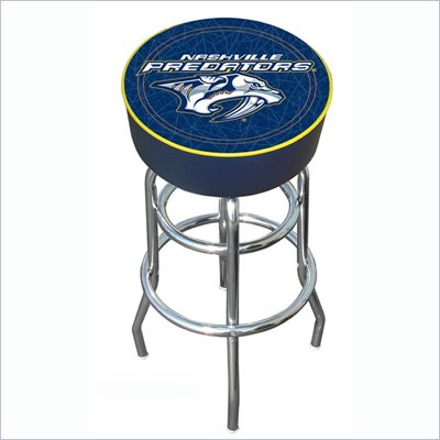 Trademark Retro NHL Nashville Predators Padded Bar Stool