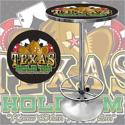 Trademark Texas Hold 'em Pub Table