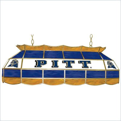 Trademark University of Pittsburgh Stained Glass 40&quot; Tiffany Lamp