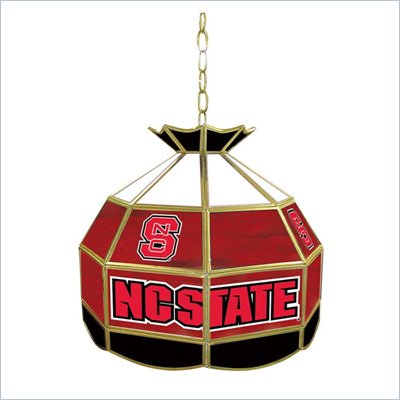 Trademark North Carolina State Glass Tiffany Lamp - 16 inch diameter
