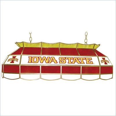 Trademark Iowa State University Stained Glass 40 &quot; Tiffany Lamp