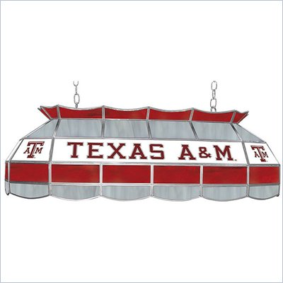 Trademark Texas A&amp;M University Stained Glass 40&quot; Tiffany Lamp