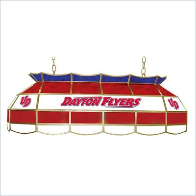 Trademark University of Dayton Stained Glass 40&quot; Tiffany Lamp