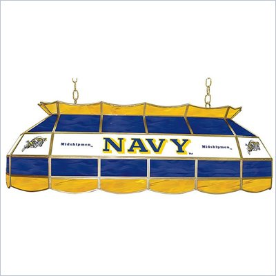Trademark United States Naval Academy Stained Glass 40&quot; Tiffany Lamp