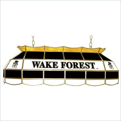 Trademark Wake Forest University Stained Glass 40&quot; Tiffany Lamp